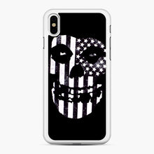 Load image into Gallery viewer, Flag Fiend iPhone XS Max Case, White Rubber Case | Webluence.com