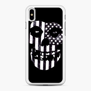 Flag Fiend iPhone XS Max Case, White Rubber Case | Webluence.com