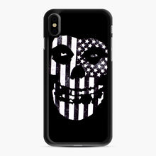 Load image into Gallery viewer, Flag Fiend iPhone XS Max Case, Black Rubber Case | Webluence.com