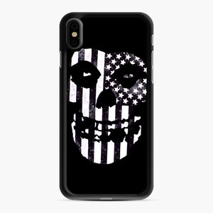 Flag Fiend iPhone XS Max Case, Black Rubber Case | Webluence.com