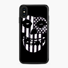 Load image into Gallery viewer, Flag Fiend iPhone XS Max Case, Black Plastic Case | Webluence.com