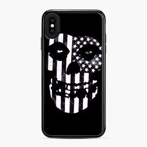Flag Fiend iPhone XS Max Case, Black Plastic Case | Webluence.com