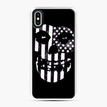 Load image into Gallery viewer, Flag Fiend iPhone XS Max Case, White Plastic Case | Webluence.com