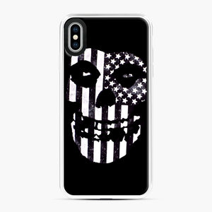 Flag Fiend iPhone XS Max Case, White Plastic Case | Webluence.com