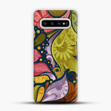 Load image into Gallery viewer, Floral Doodle Samsung Galaxy S10 Plus Case, Snap Case | Webluence.com