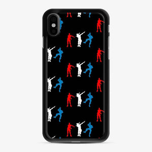 Floss Dance Gaming Fortnite iPhone X / XS Case, Black Rubber Case