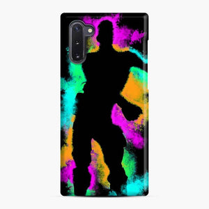 Floss Emote Splatter Fortnite Samsung Galaxy Note 10 Case, Snap Case