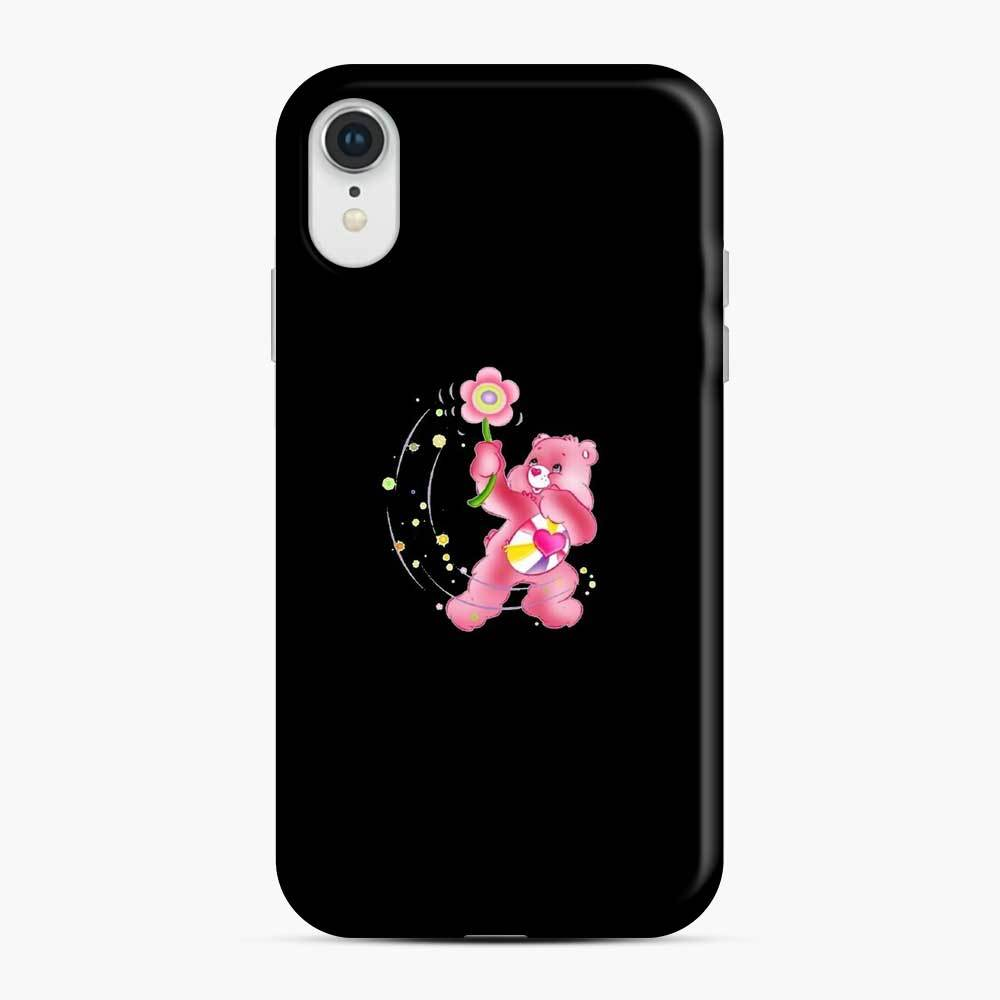 Flower Care Bears 1 iPhone XR Case, Snap Case