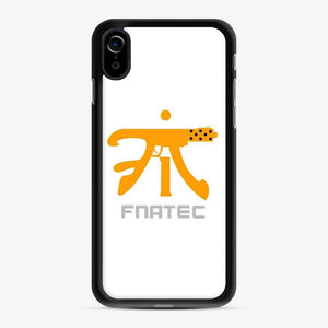 Fnatic Fnatec Tec9 iPhone XR Case, Black Rubber Case