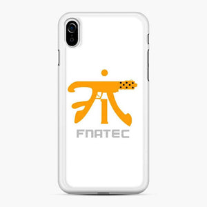 Fnatic Fnatec Tec9 iPhone XR Case, White Rubber Case