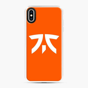 Fnatic Scgo iPhone XS Max Case, White Plastic Case