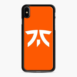 Fnatic Scgo iPhone XS Max Case, Black Rubber Case