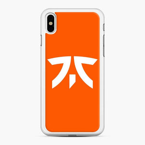 Fnatic Scgo iPhone XS Max Case, White Rubber Case