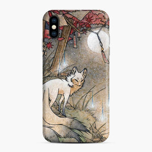 Fox Wisps Kitsune Yokai Foxfire iPhone XS Max Case