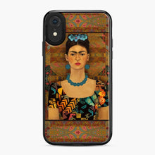 Load image into Gallery viewer, Frida Con Pendientes Azules Kahlo iPhone XR Case