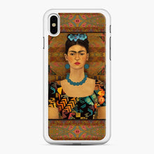 Load image into Gallery viewer, Frida Con Pendientes Azules Kahlo iPhone X/XS Case