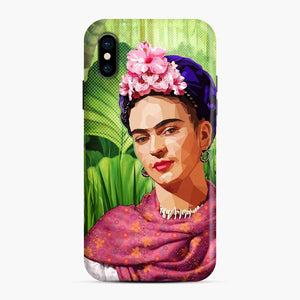 Frida In The Jungle Kahlo iPhone X/XS Case