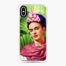 Load image into Gallery viewer, Frida In The Jungle Kahlo iPhone XS Max Case