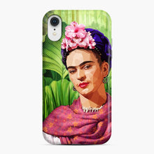 Load image into Gallery viewer, Frida In The Jungle Kahlo iPhone XR Case