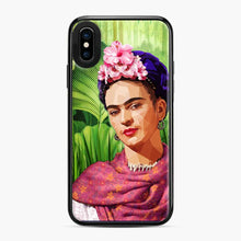 Load image into Gallery viewer, Frida In The Jungle Kahlo iPhone X/XS Case