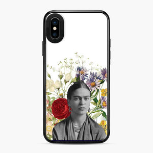 Frida Kahlo Floral 1 iPhone X/XS Case