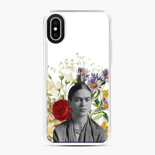 Load image into Gallery viewer, Frida Kahlo Floral 1 iPhone X/XS Case