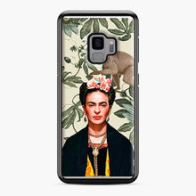 Load image into Gallery viewer, Frida Kahlo In Jungle Samsung Galaxy S9 Case
