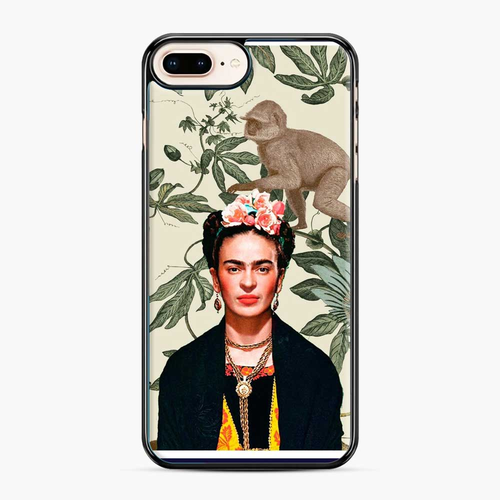 Frida Kahlo In Jungle iPhone 7 Plus / 8 Plus Case
