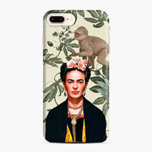Load image into Gallery viewer, Frida Kahlo In Jungle iPhone 7 Plus / 8 Plus Case