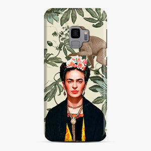 Frida Kahlo In Jungle Samsung Galaxy S9 Case