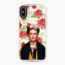 Load image into Gallery viewer, Frida Kahlo Roses 1 iPhone X/XS Case