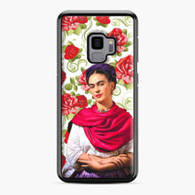 Load image into Gallery viewer, Frida Kahlo Roses Samsung Galaxy S9 Case