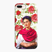 Load image into Gallery viewer, Frida Kahlo Roses iPhone 7 Plus / 8 Plus Case