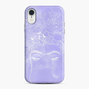 Frida Kahlo Sketch iPhone XR Case