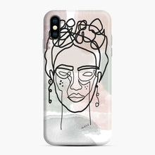 Load image into Gallery viewer, Frida Line Kahlo iPhone XS Max Case