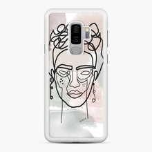 Load image into Gallery viewer, Frida Line Kahlo Samsung Galaxy S9 Plus Case