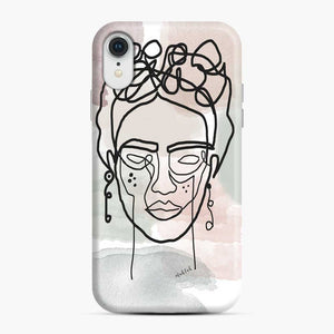 Frida Line Kahlo iPhone XR Case