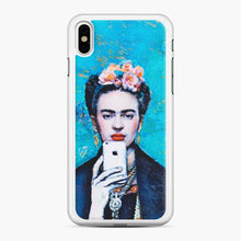 Load image into Gallery viewer, Frida With Smartphone Kahlo iPhone X/XS Case