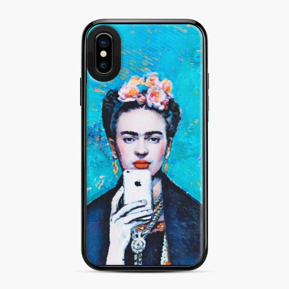 Frida With Smartphone Kahlo iPhone X/XS Case