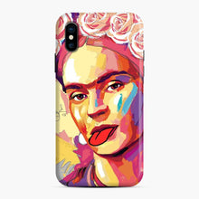 Load image into Gallery viewer, Fun Frida Kahlo iPhone X/XS Case