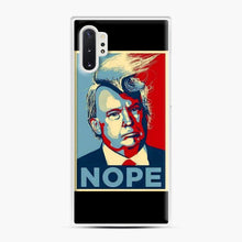Load image into Gallery viewer, Funniest Tiny Donald Trump Pictures Samsung Galaxy Note 10 Plus Case, White Plastic Case | Webluence.com