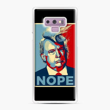 Load image into Gallery viewer, Funniest Tiny Donald Trump Pictures Samsung Galaxy Note 9 Case, White Plastic Case | Webluence.com