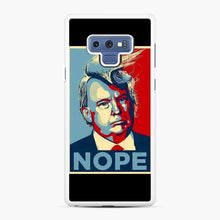 Load image into Gallery viewer, Funniest Tiny Donald Trump Pictures Samsung Galaxy Note 9 Case, White Rubber Case | Webluence.com