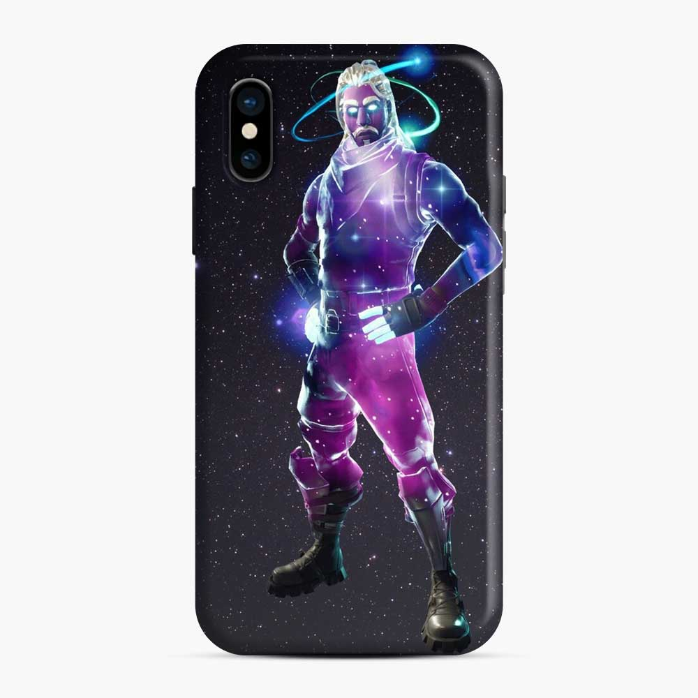 Galaxy Fortnite iPhone X / XS Case, Snap Case