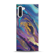 Load image into Gallery viewer, Glam Bath Salts1 Samsung Galaxy Note 10 Case, White Plastic Case | Webluence.com