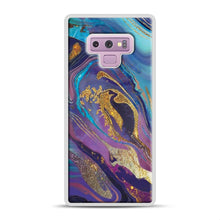 Load image into Gallery viewer, Glam Bath Salts1 Samsung Galaxy Note 9 Case, White Plastic Case | Webluence.com