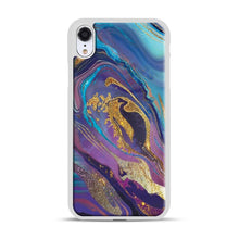 Load image into Gallery viewer, Glam Bath Salts1 iPhone XR Case, White Rubber Case | Webluence.com