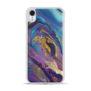 Glam Bath Salts1 iPhone XR Case, White Rubber Case | Webluence.com