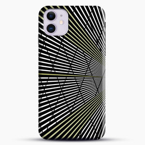 Gold and Black Line Pattern iPhone 11 Case.jpg, Snap Case | Webluence.com