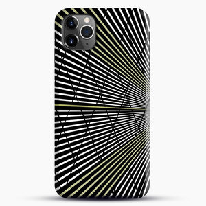 Gold and Black Line Pattern iPhone 11 Pro Max Case.jpg, Snap Case | Webluence.com